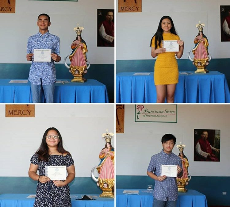 May 22, 2020 – 8th Grade Graduates Celebrated